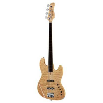 Sire Marcus Miller V9 SWAMP ASH-4 FL NT el-bas, båndløs natur