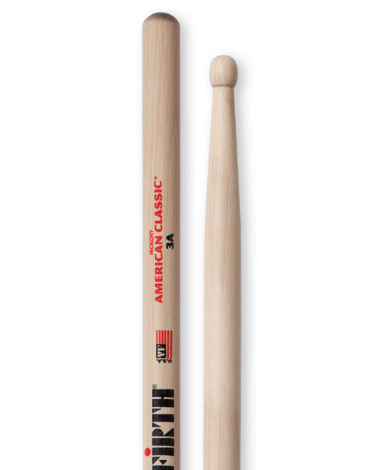 Image of   Vic Firth 3A American Classic trommestikker(par)