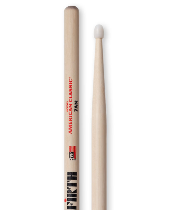 Image of   Vic Firth 7AN American Classic Nylon trommestikker(par)