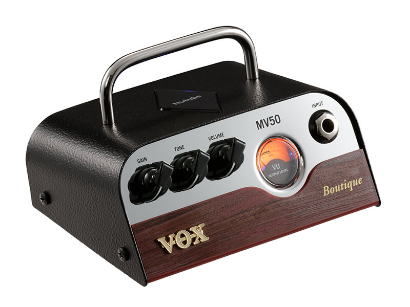Vox MV50-Boutique guitarforstærker-top