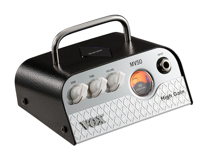 Vox MV50-High Gain guitarforstærker-top