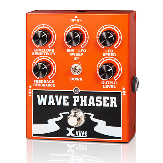 XVive W1 Wave Phaser guitar-effekt-pedal