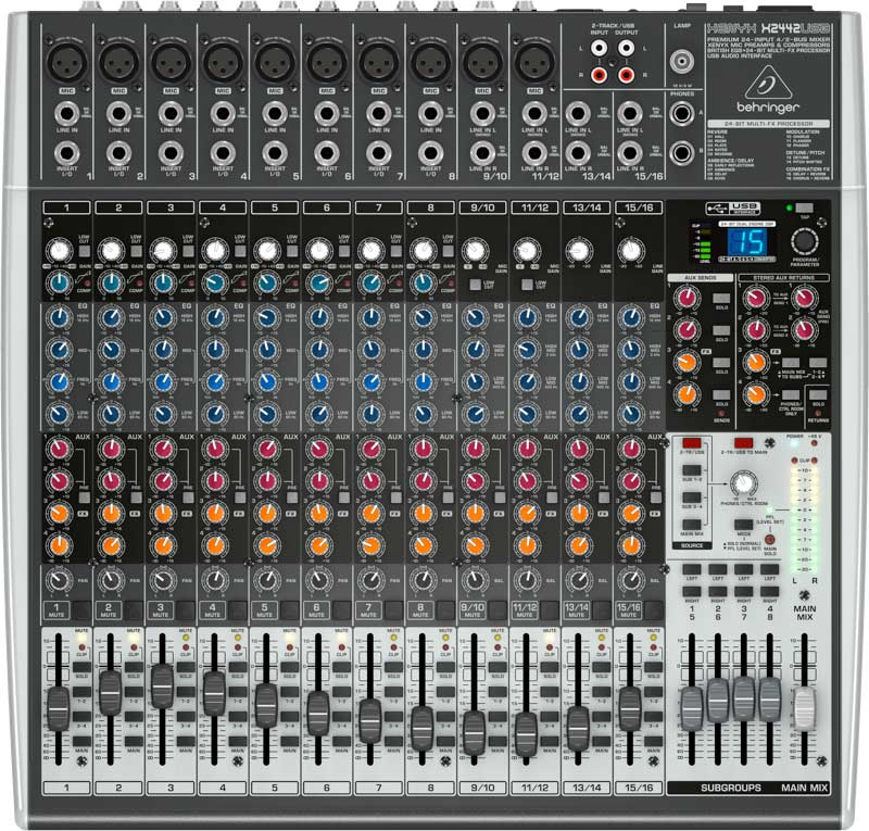 Behringer XenyxX2442USB mixer