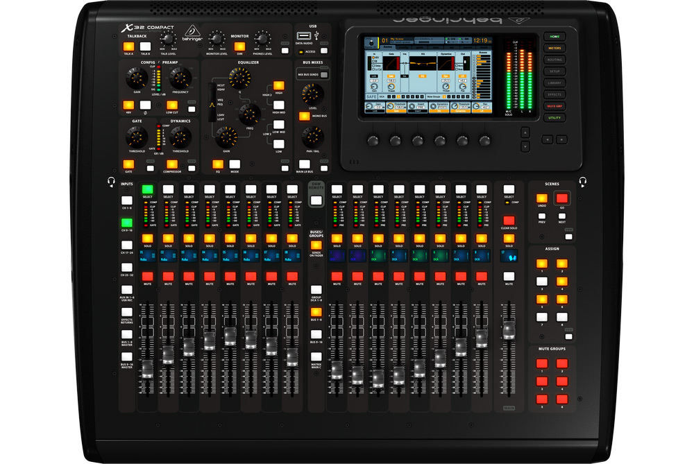 Image of   Behringer X32-Compact mixer
