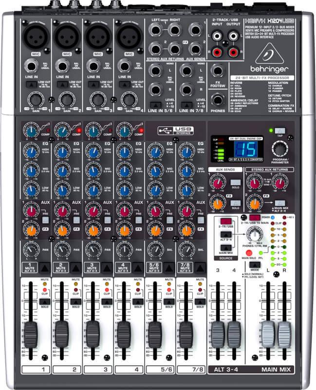 Behringer XenyxX1204USB mixer