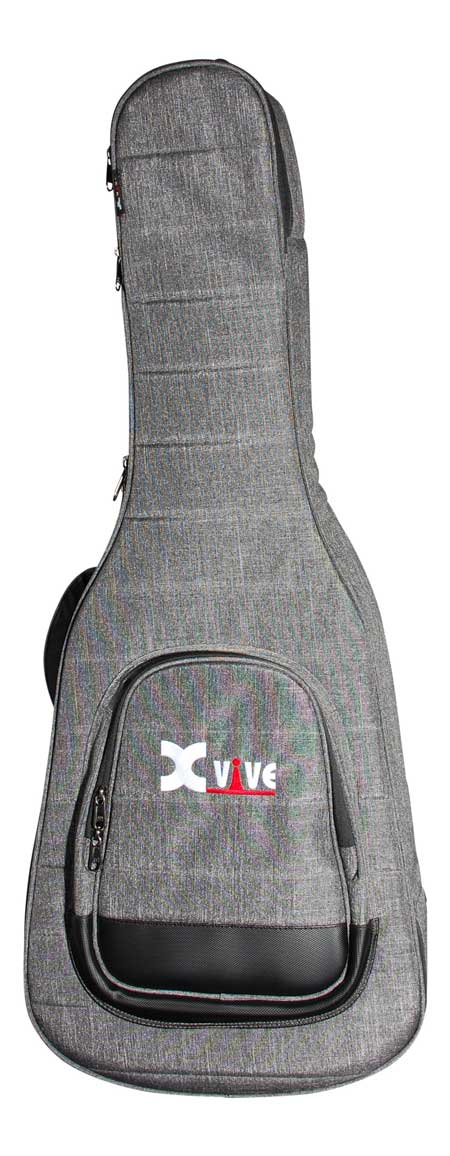 XVive GB-1 tasketilwestern-guitar grå