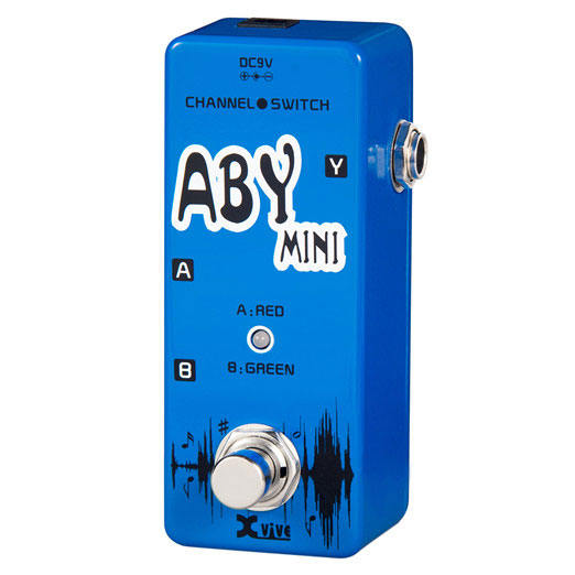 XVive V12 AbY Mini guitar-pedal