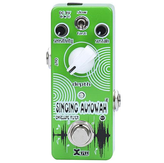 XVive V17 Singing AutoWah guitar-effekt-pedal