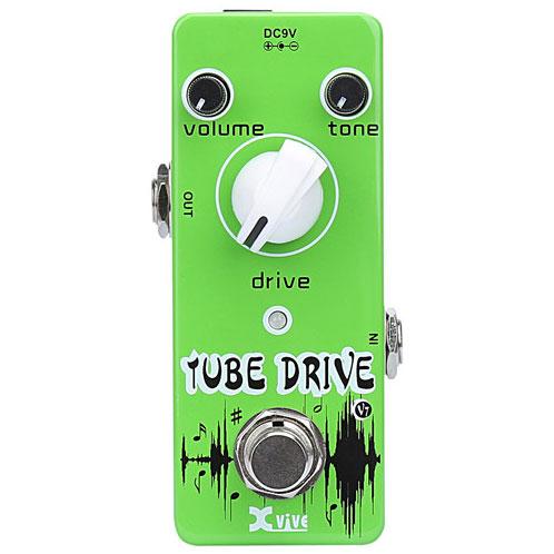 XVive V7 Tube Drive guitar-effekt-pedal