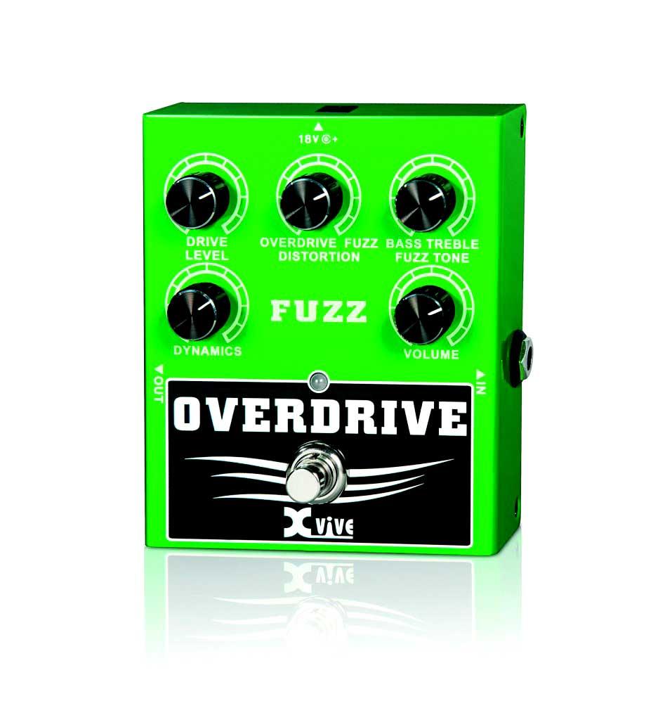 XVive W2 Overdrive/Fuzz guitar-effekt-pedal