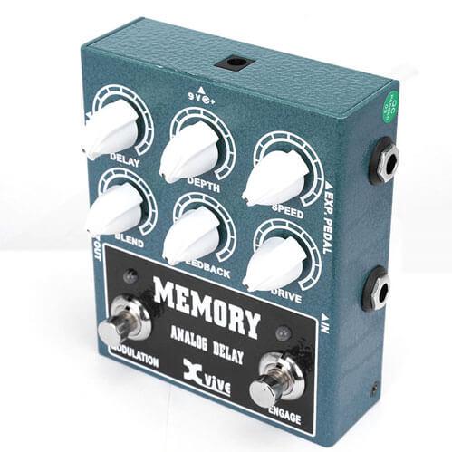 XVive W3 Memory Analog Delay guitar-effekt-pedal