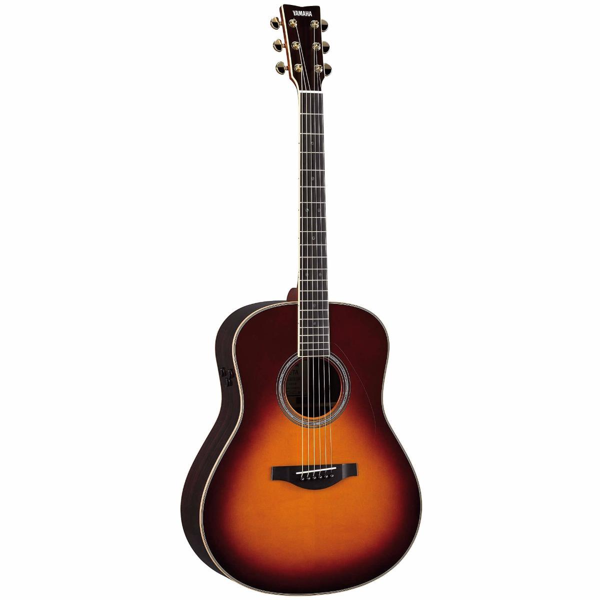 Yamaha LL-TA BS transacousticwestern-guitar brownsunburst