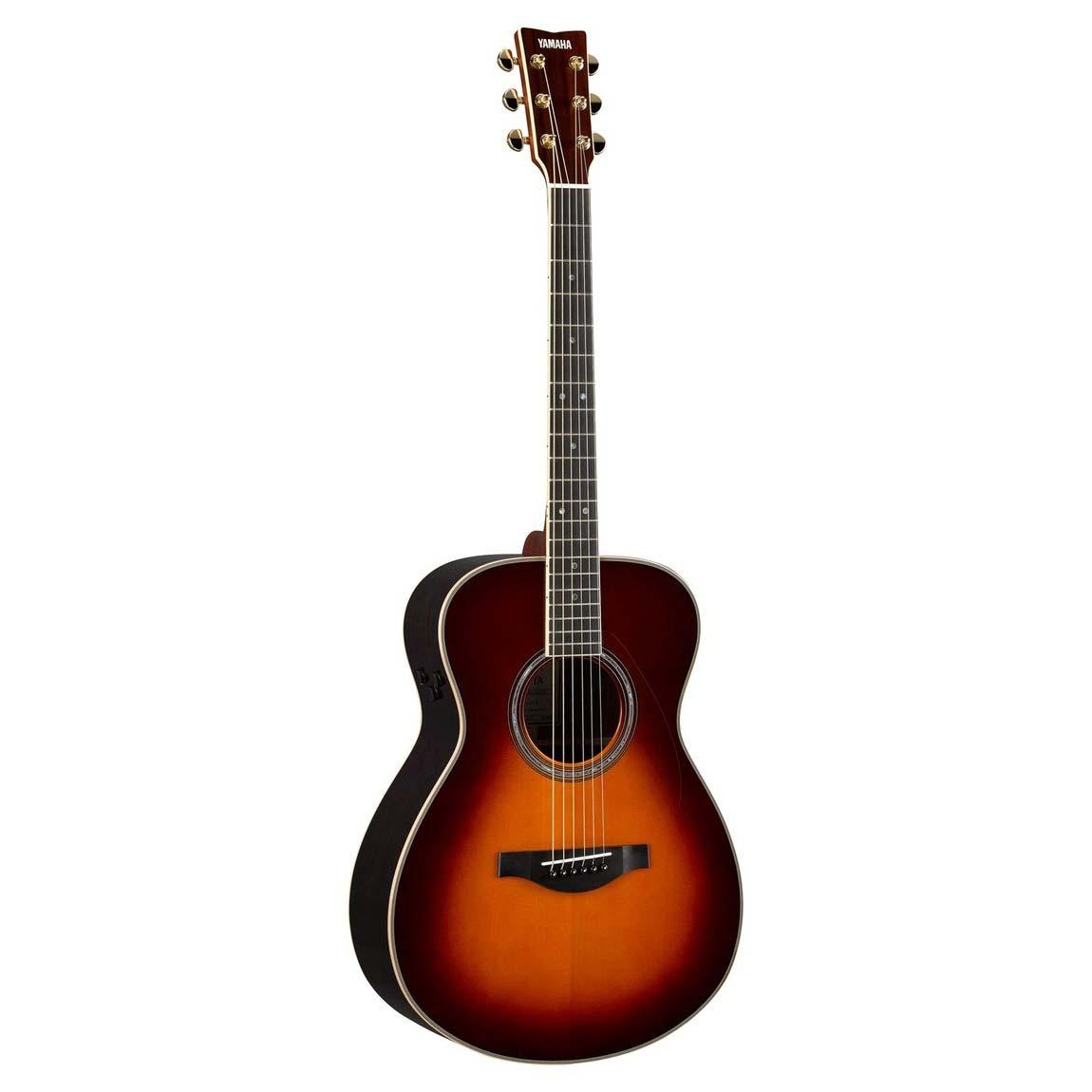 Yamaha LS-TABS transacousticwestern-guitar brun sunburst