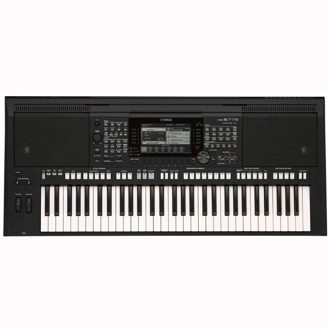 Image of   Yamaha PSR-S775 keyboard