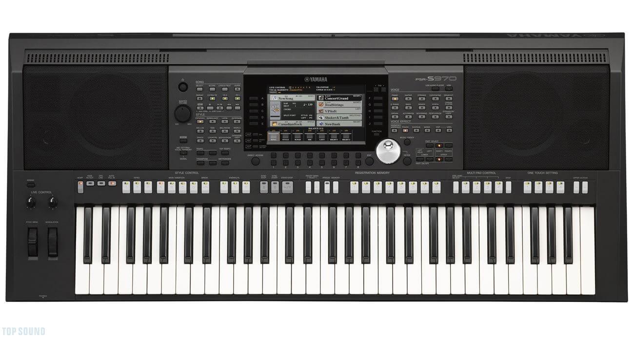 Billede af Yamaha PSR-S970 keyboard