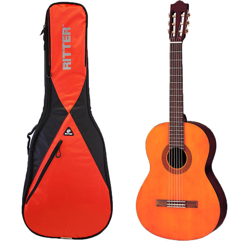 Yamaha C40 spansk guitar med taske