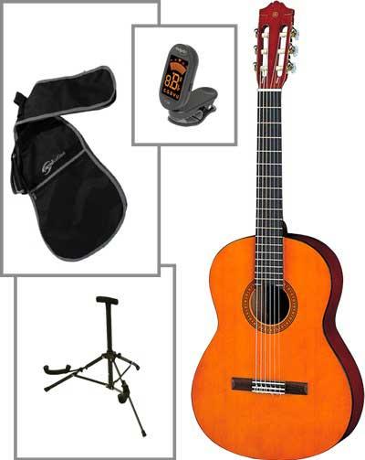 Yamaha CGS102A børne spansk-guitar, naturfarvet, PAKKELØSNING