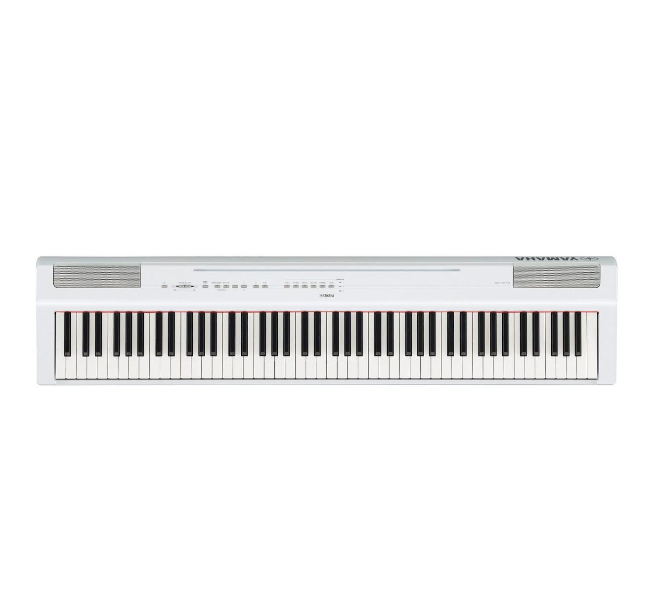 Image of   Yamaha P-125 WH el-klaver hvid