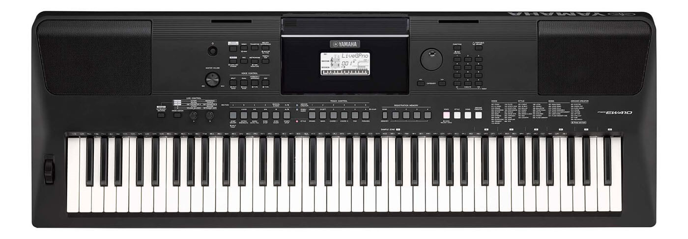 Image of   Yamaha PSR-EW410 keyboard