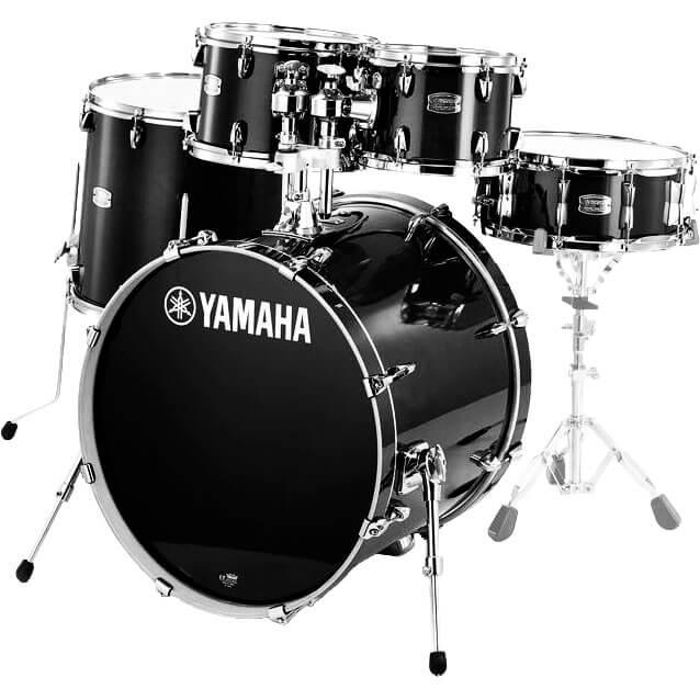 Yamaha SBP2F5RBLStageCustomBirch trommesæt ravenblack