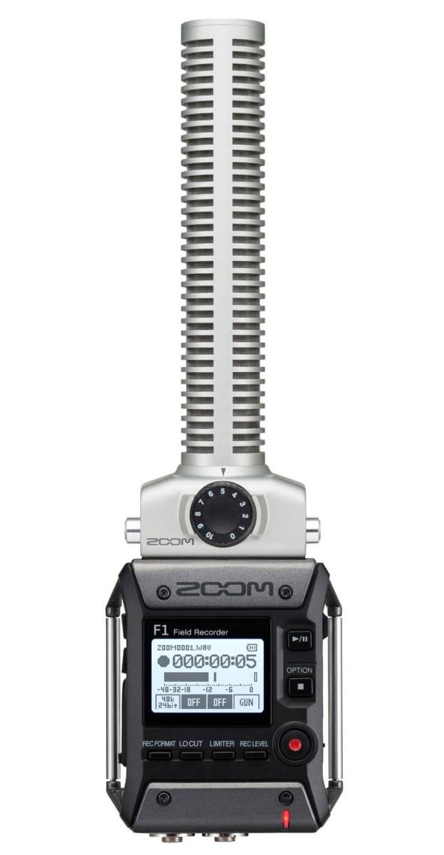 Billede af Zoom F1-SP håndholdt optager med shotgun-mikrofon