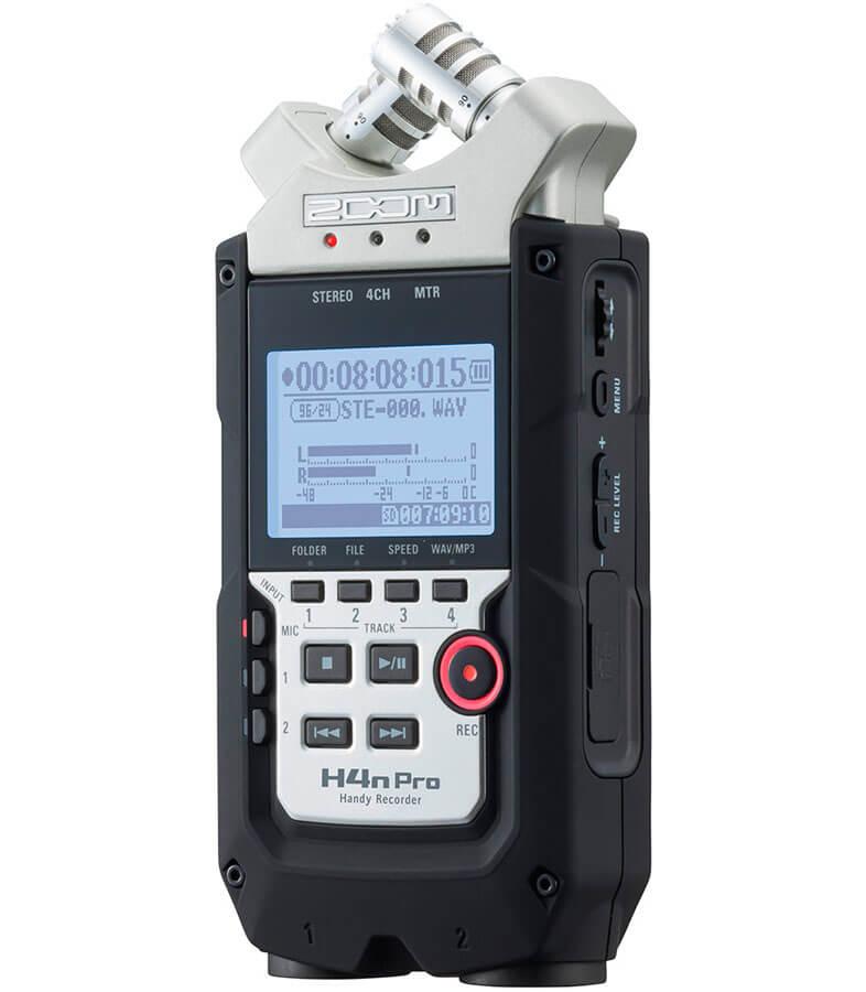 Zoom H4n-PRO handyaudiorecorder