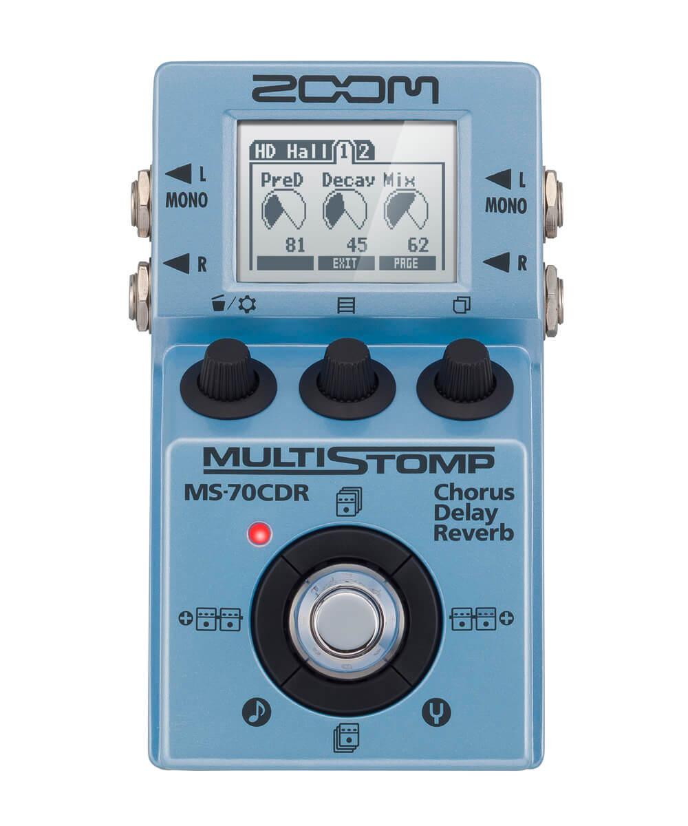 Billede af Zoom MS-70 CDR guitar-multieffekt-pedal