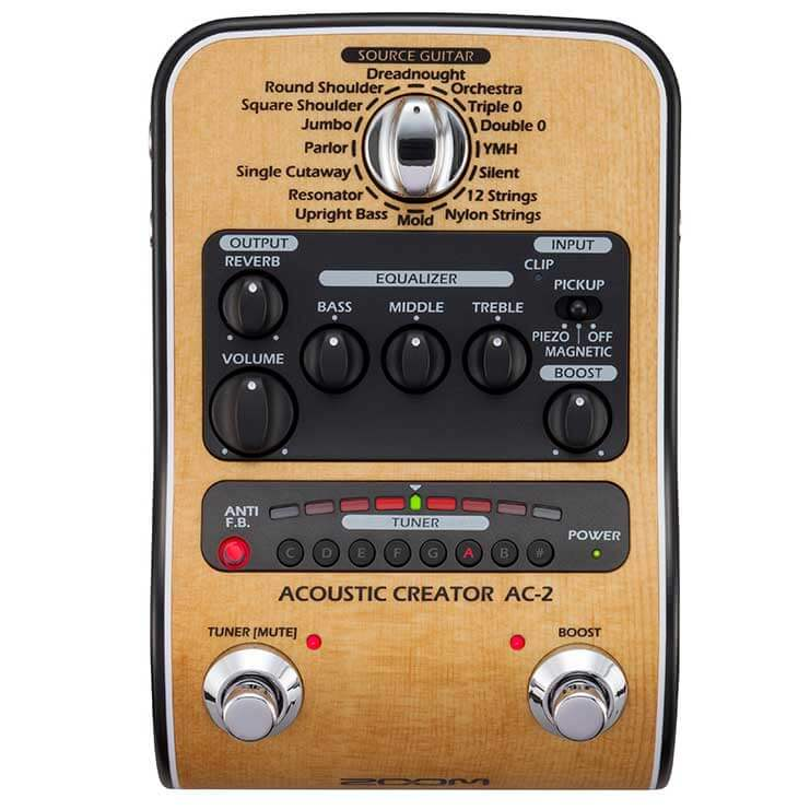 Zoom AC-2 akustisk-guitar-pedal