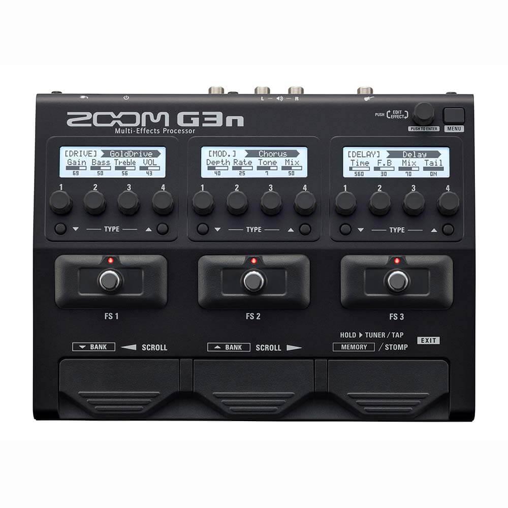 Zoom G3n guitar-multieffekt-pedalboard
