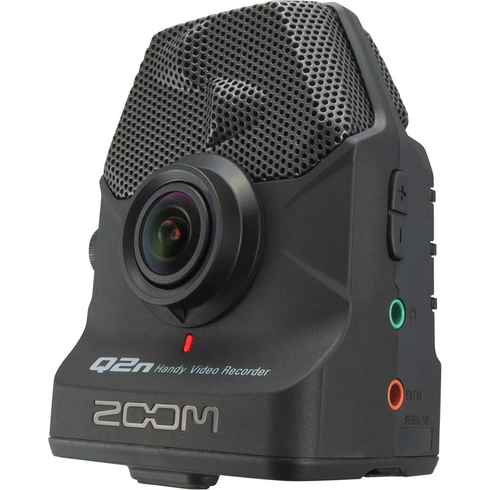 Zoom Q2n handy video audio recorder