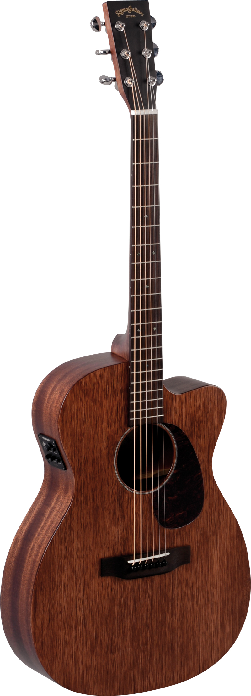 Billede af Sigma 000MC-15E western-guitar mahogni