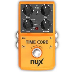 Billede af Nux TimeCore multi-delayguitar-pedal