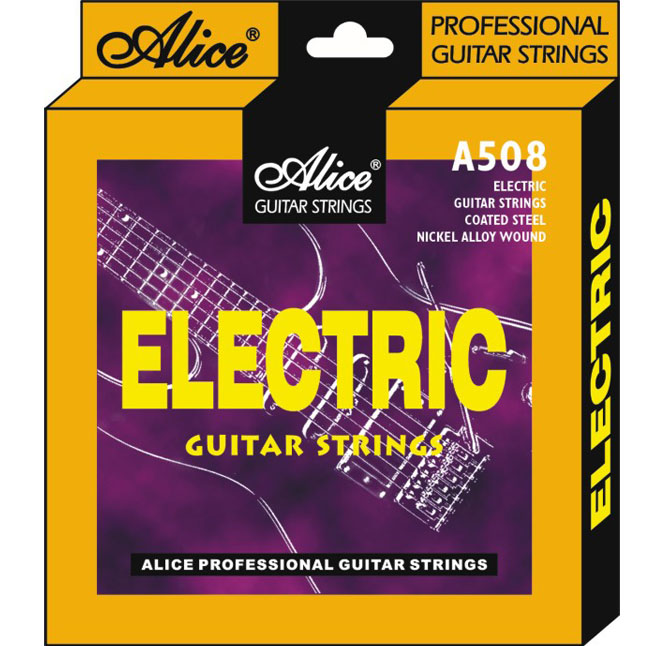 Image of   Alice A508A-L guitar-strenge,nikkel,light