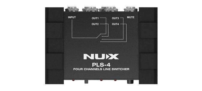 Billede af Nux PLS-4 line-switcher