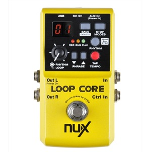 Nux LoopCore loop-guitar-pedal