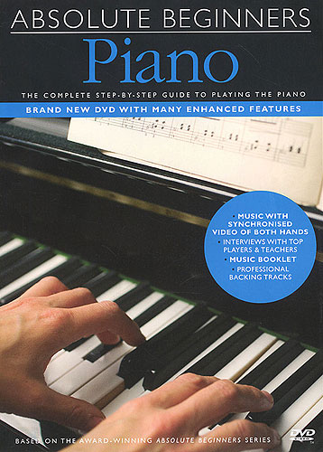 Image of   AbsoluteBeginners:Piano DVD