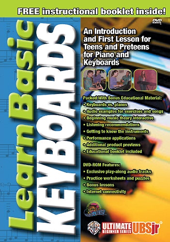 Billede af UltimateBeginner:LearnBasickeyboards DVD