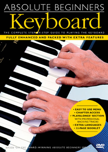 Image of   AbsoluteBeginners:keyboard DVD
