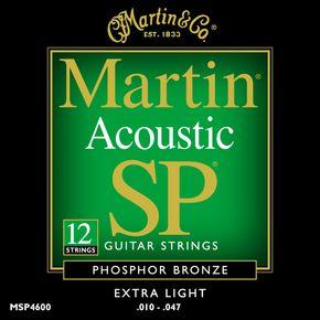 Billede af Martin MSP4600 12-strengetwestern-strenge
