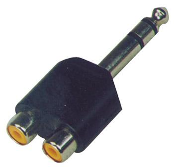 Image of   HiEnd 2xphono-til-jack(stereo)-adapter