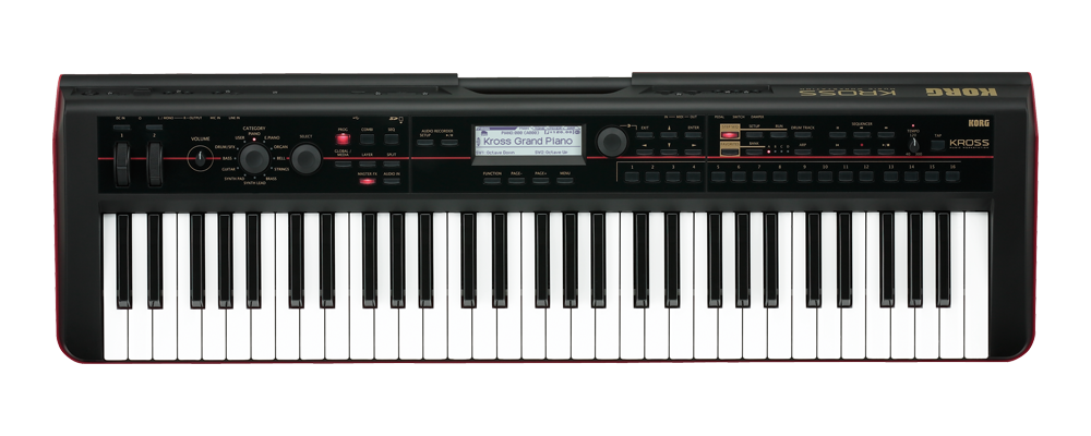 Korg Kross-61 keyboard sort