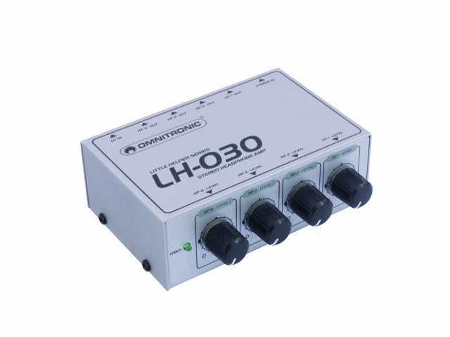 Image of   Omnitronic LH-030 hovedtelefon-forstærker