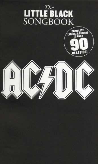 Billede af TheLittleBlackSongbook:AC/DC lærebog