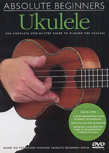 Image of   AbsoluteBeginners:ukulele DVD