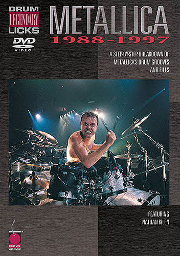 LegendaryDrumLicks:Metallica1988-1997 DVD