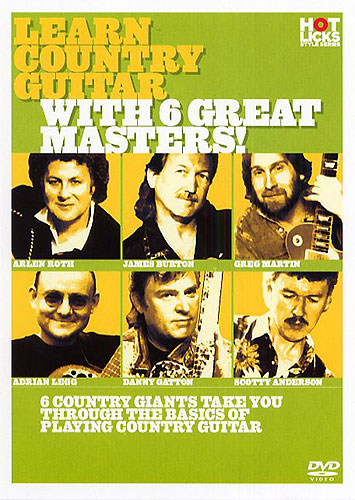 Billede af LearnCountryguitarWith6GreatMasters! DVD