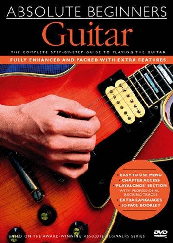 Image of   AbsoluteBeginners:guitar DVD