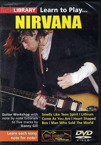 Billede af LickLibrary:LearnToPlayNirvana DVD