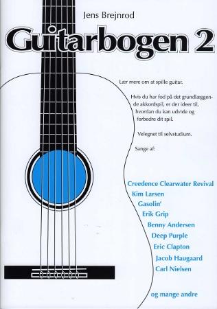 Billede af Guitarbogen2 lærebog