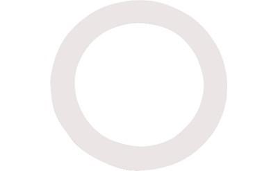 Image of   Remo DM-0005-01Dynamo5½ ringtilstortrommeskind-hul hvid